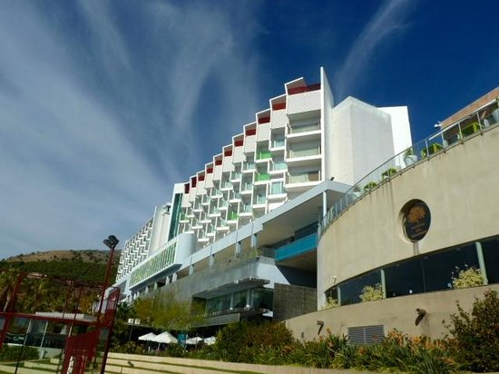DoubleTree by Hilton Hotel Resort & Spa Reserva del Higueron: View from the Sports Bar