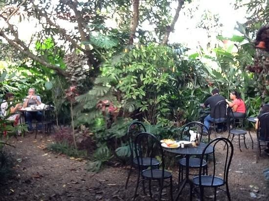 Hotel Aranjuez: Breakfast patio