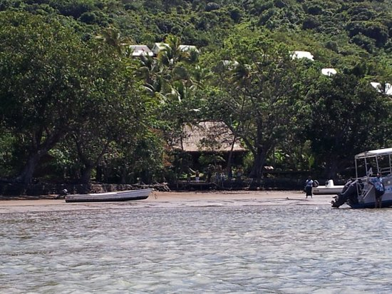 Matava - Fiji's Premier Eco Adventure Resort : arriving in Matava