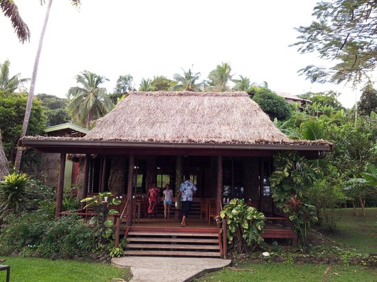 Matava - Fiji's Premier Eco Adventure Resort : dining hall