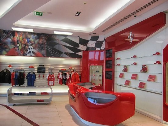 Dubai Festival City Mall : Festival City Centre - Ferrari Shop