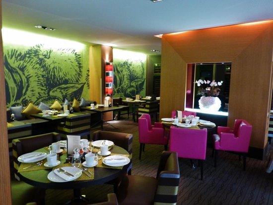 Sofitel Strasbourg Grande Ile : Restaurant/Frühstücksraum