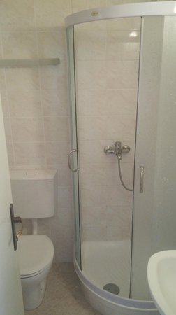 Hotel Zvonimir: bathroom