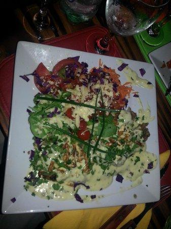 The Frog's: Salada do dia