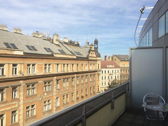Novotel Praha Wenceslas Square: view