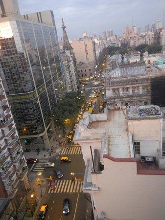 Uno Buenos Aires Suites: Vista terraza