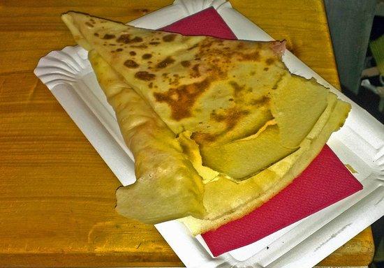 Crepsdemuntanya: Crep de Jamón y tres quesos en Topoduocrep
