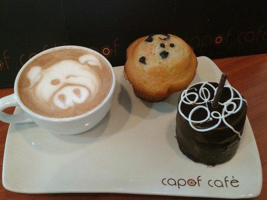 Capof Cafe Javeriana: Capuchino