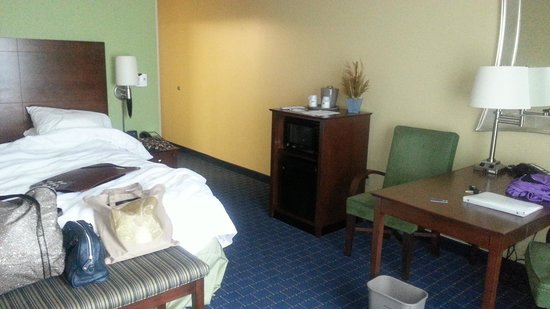 Hampton Inn & Suites Little Rock - Downtown: This room feels like home