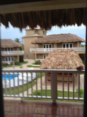 Sapphire Beach Resort: view from room