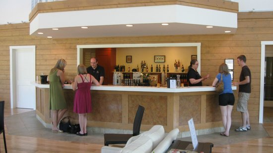 Tasting Bar at Pollak Vineyards