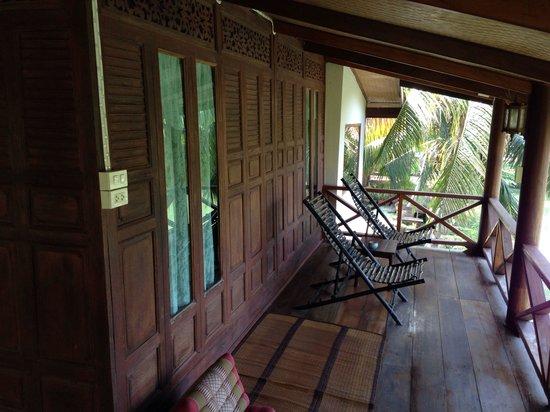 Baan Thai House : Thai villa terrace