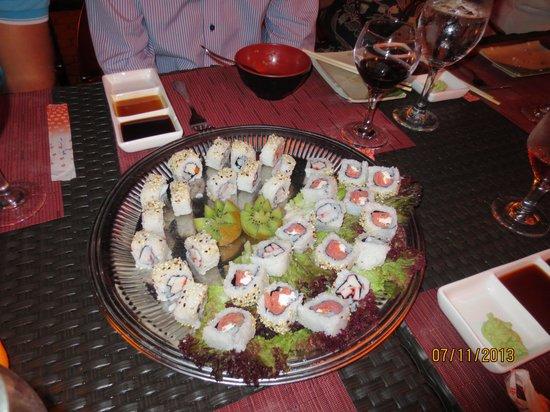 Sunscape Curacao Resort Spa & Casino: Sushi at Himitsu