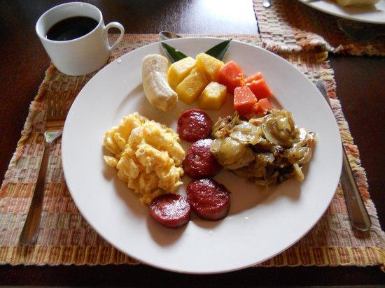 Vista Hermosa Boutique Bed & Breakfast : Breakfast
