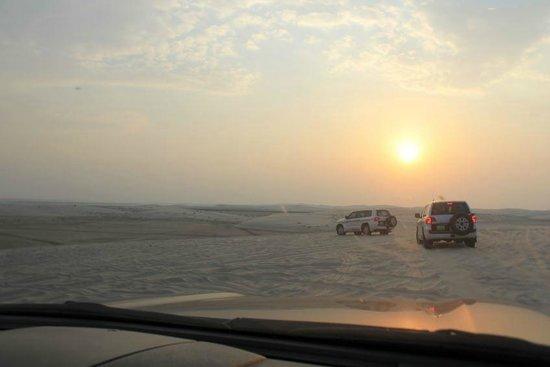 Arabian Adventures Day Tours: Low Winter Sun