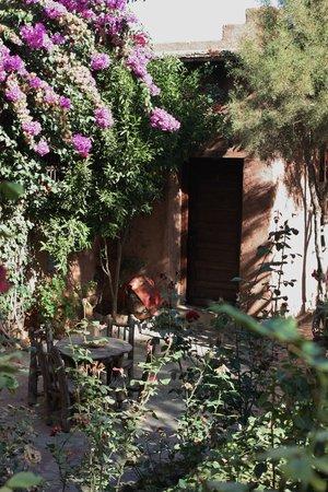Chez Momo: Room entrance