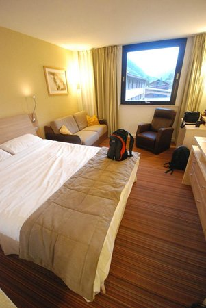 Mercure Chamonix Les Bossons: Double room