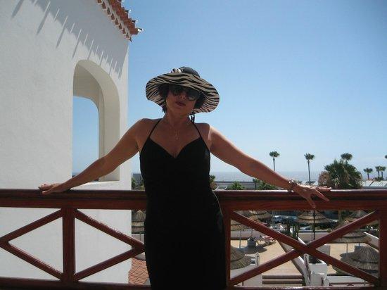 Club El Beril Tenerife: на балконе
