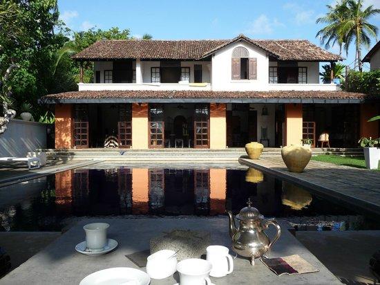 Casa Siena: 5-Uhr-Tee am Pool