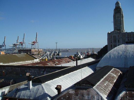 Don Boutique Hotel : Vue sur le port depuis le rooftop