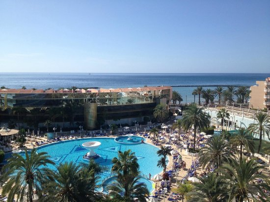 Mediterranean Palace Hotel: sea view