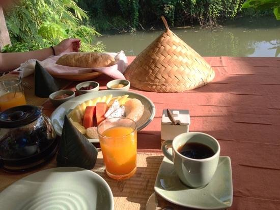 Breakfast at Maison de Sukhothai