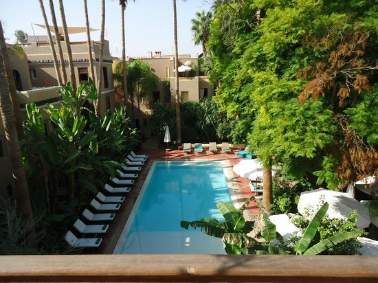 Piscine picture of les jardins de la medina marrakech for Les jardins de la villa booking