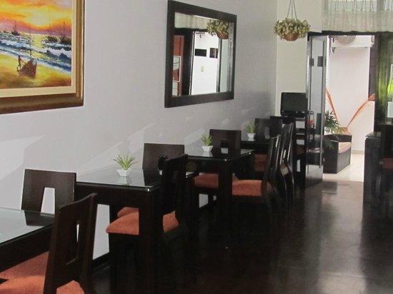 Hotel B'liam: Breakfast room