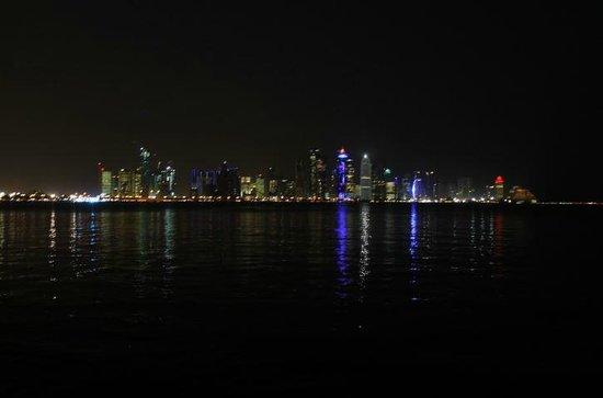 The Corniche: All of the lights