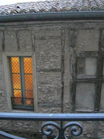 Hotel de la Cite Carcassonne - MGallery Collection : Vue depuis la fenêtre de la chambre