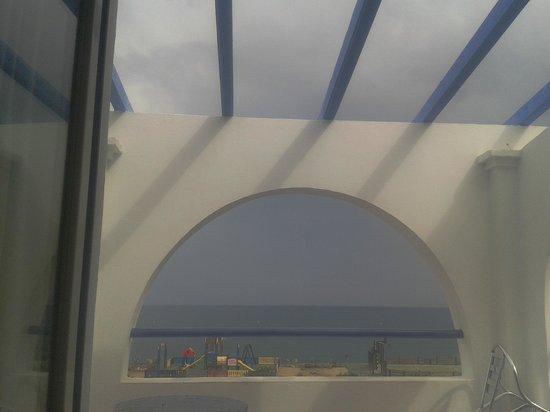 Mojacar Playa Hotel: Vista hacia el frente