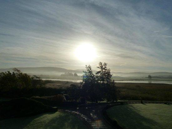 Lochside House Hotel & Spa: Misty morning