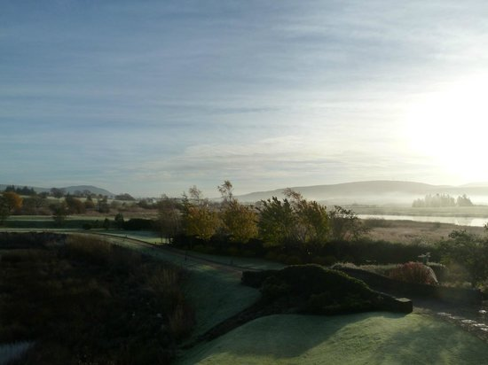 Lochside House Hotel & Spa: Sun coming out