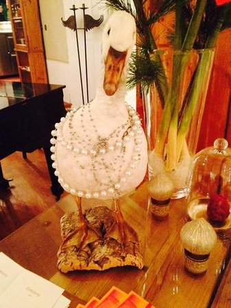 Privathotel Lindtner Hamburg : fancy goose in the bar