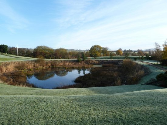 Lochside House Hotel & Spa: Pond