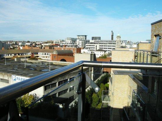 Staycity Aparthotels Saint Augustine St: balcony view