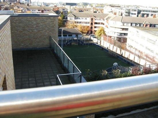 Staycity Aparthotels Saint Augustine St: view from balcony