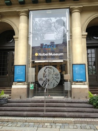 The Nobel Museum: Front entrance