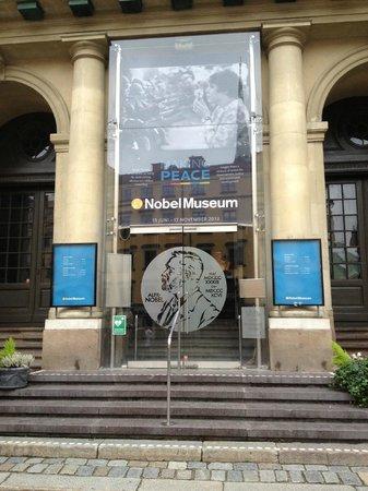 The Nobel Museum : Front entrance