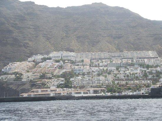 Royal Sun Resort: Отель на самом верху справа