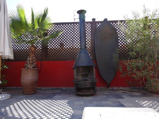 Riad Badi : La terrasse