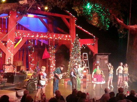 Hatfield & McCoy Dinner Show: Singing and clogging!