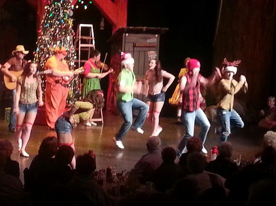 Hatfield & McCoy Dinner Show: Loved the cloggers!