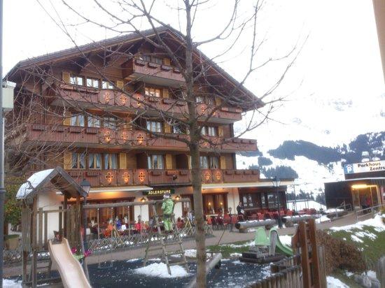 Adler Adelboden: Adelboden - Hotel Adler mit Adlerstube