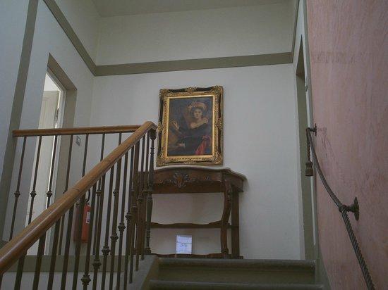 Ape Rosa Relais : escaliers