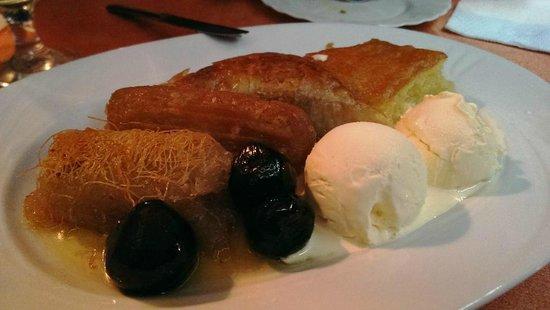 Gevgelija, República de Macedonia: Dessert