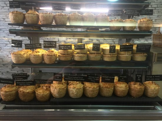 Relish : award winning pies,choose from 35 different favoured pies