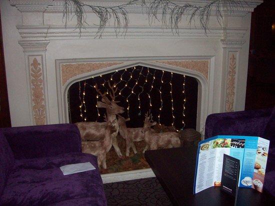 Bay Torbay Hotel: Christmas reindeer