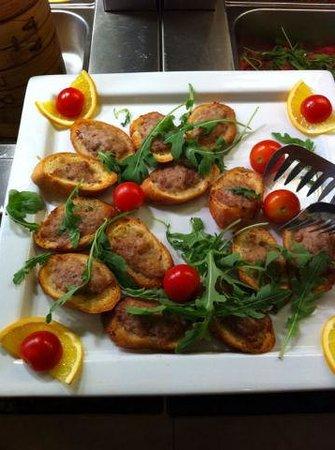 Baia D'oro Restaurant Sushi Wok: cibo
