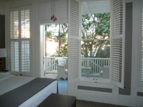 Hotel del Coronado: Blick vom Zimmer auf den Innengarten